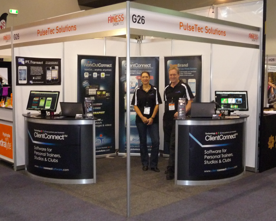 Perth Fitness Show stand